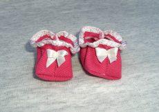 Masnis babacipő játékbabára sok színben