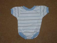 Csíkos body, játékbaba ruha