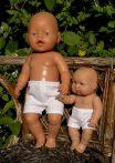Boxer alsó játékbabáknak