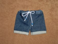 Farmer rövid nadrág, játékbaba ruha