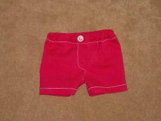 Pink tűzött rövid nadrág, játékbaba ruha
