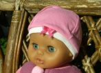 Pamut játékbaba sapka több színben